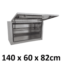 Aluminium Side Square Full Opening Box 1468SFD